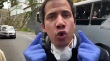 Venezuela : le chef de l'opposition Juan Guaido réapparaît dans les rues sur plusieurs vidéos