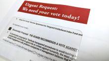 Vanguard funds meet quorum in proxy vote as genocide measure fails