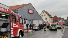 Car drives into German carnival parade, ten injured - police