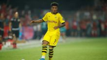 Dortmund discipline Sancho and drop teenager for Gladbach match