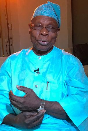 Ex-Nigerian president Obasanjo backs former deputy for 2019 election