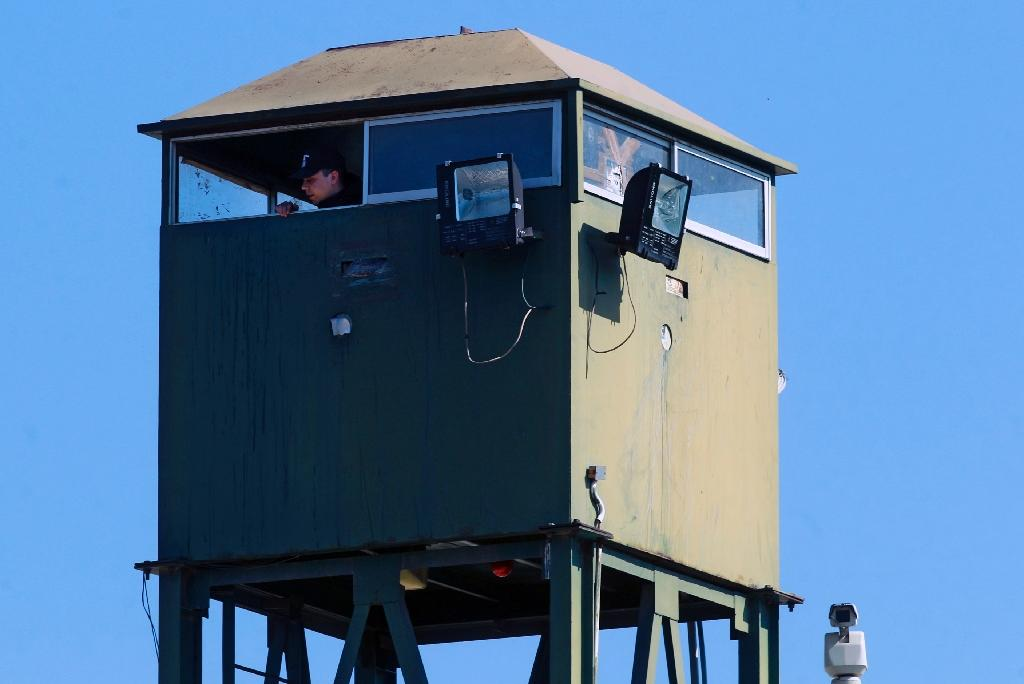 The prison currently holds 104 ex-members of late dictator Augusto Pinochet's security forces (AFP Photo/Claudio Reyes)