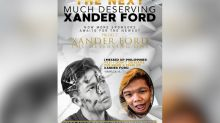 Xander Ford's name taken away from Marlou Arizala