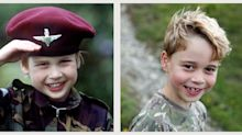 Prince George's Camo Shirt Is a Clever Nod to the Military—And to Prince William