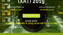 XAT 2019: Online Application Process To Start On August 20
