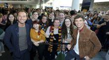 'Fantastic Beasts' Stars Surprise Fans on Harry Potter 'Back to Hogwarts' Day