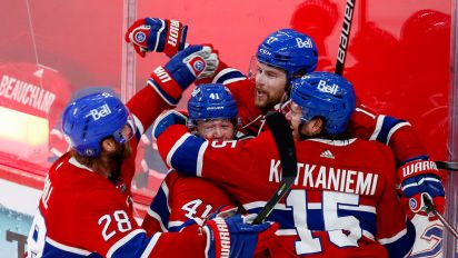The Canadiens are good. Deal with it.