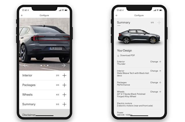 Polestar wants you to buy and unlock your car with your phone