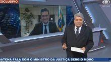 """Datena chama Sérgio Moro de """"presidente"""" durante o 'Cidade Alerta'"""