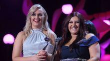 Gogglebox stars Izzi and Ellie dedicate NTA win to Leon