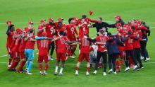 Bayern celebra título de Bundesliga con goleada 6-0 y triplete de Lewandowski
