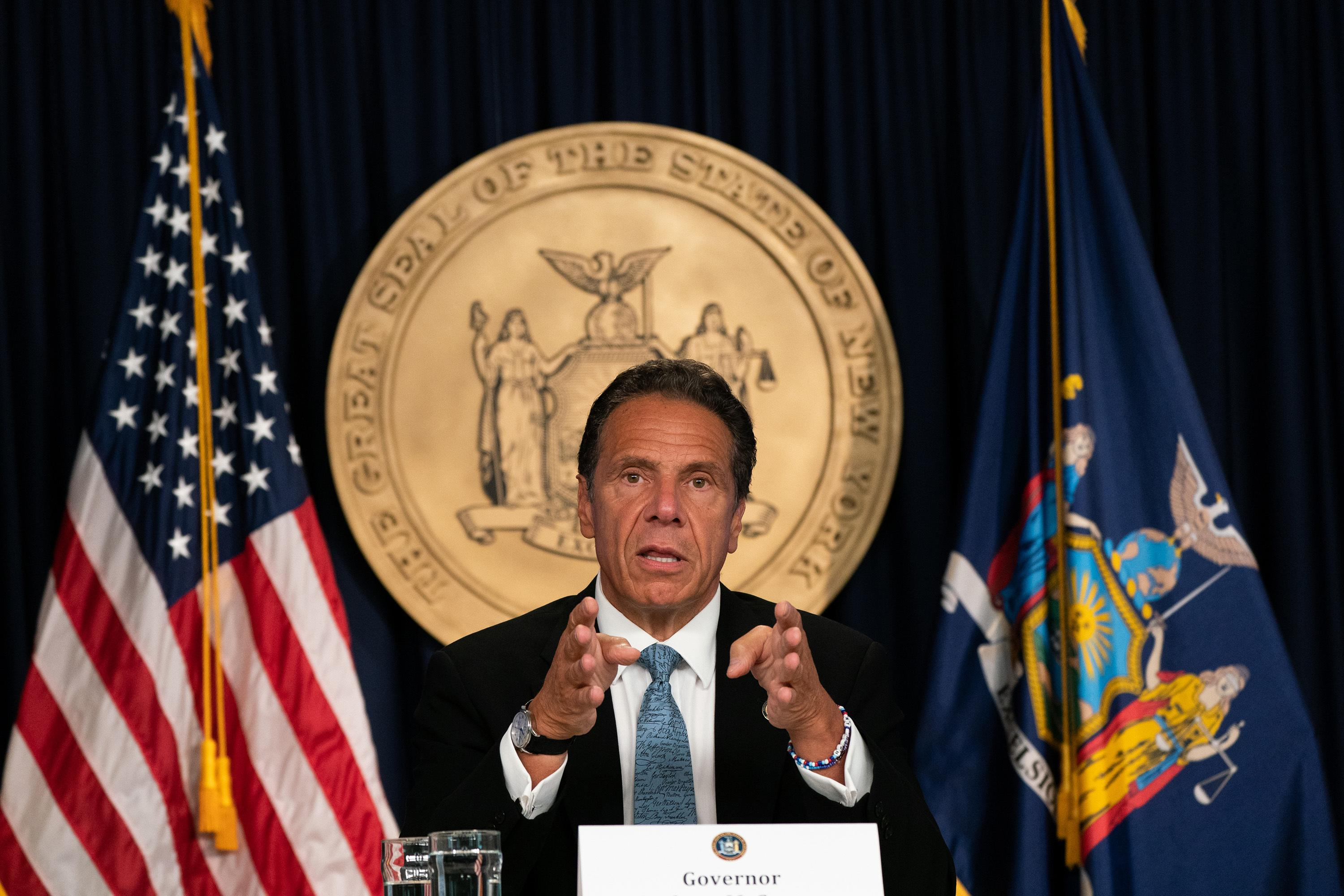 New York's coronavirus infection rate drops below 1% as deaths plummet, Cuomo says