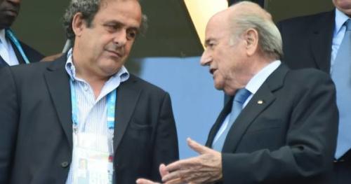Foot - Fifa - Sepp Blatter : «Il faut que Michel Platini revienne à l'UEFA ou à la Fifa»