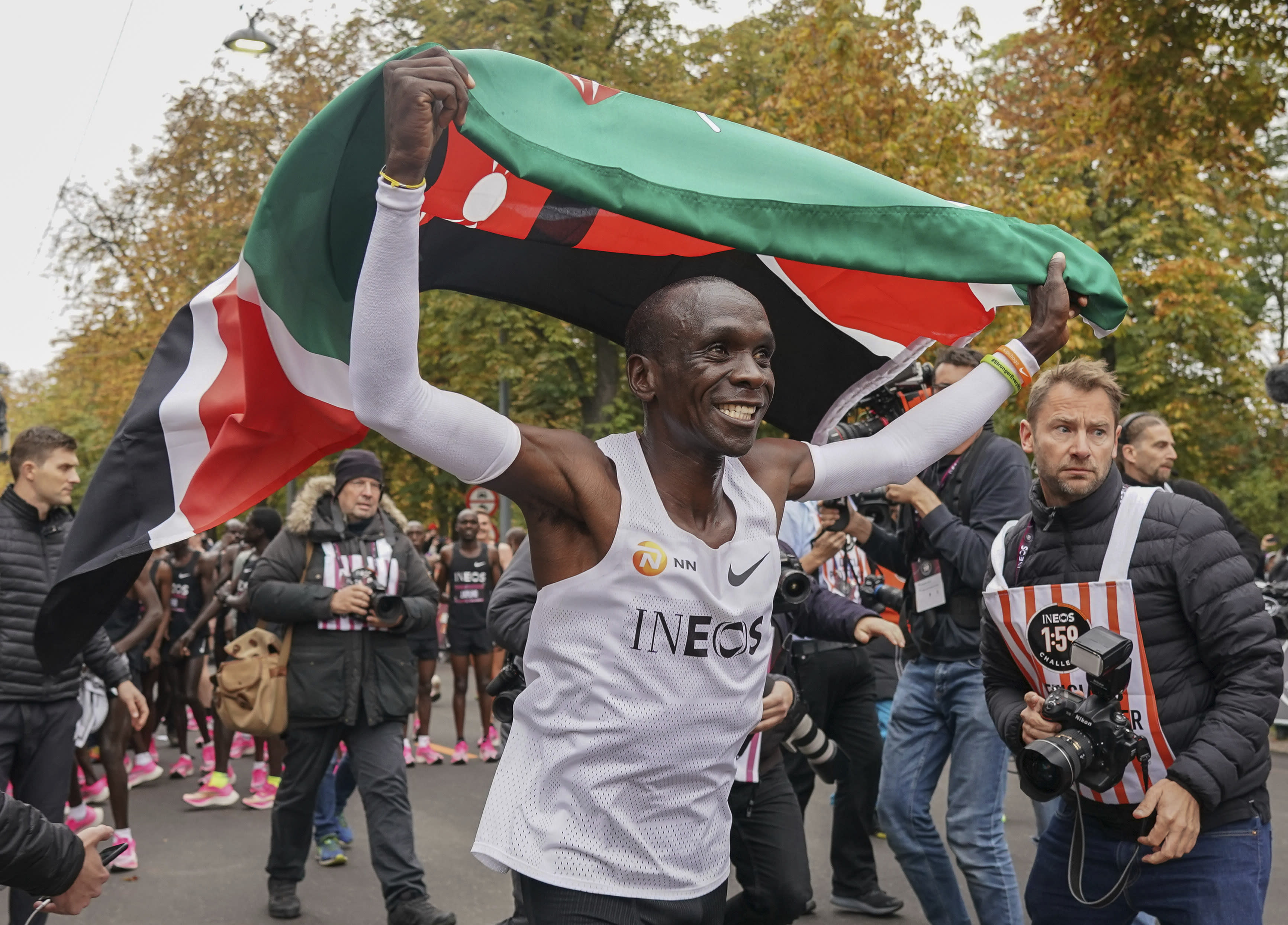 Image result for kipchoge reuters