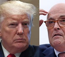 Trump says Giuliani suspension from practicing law in NY is part of 'Witch Hunt'
