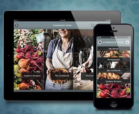 Evernote Food 2.0 delivers the goodies for foodies