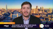 'Shocking' UK Christmas sales raise chances of rate cut