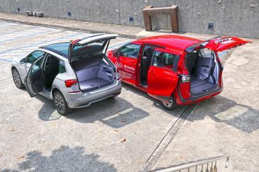 選CUV還是MPV?我們請到Skoda Kamiq與Toyota Sienta來場矛與盾的對決!(空間差異)