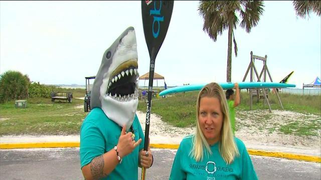 ABC Action News: Weekend Edition: Shark Bite Challenge