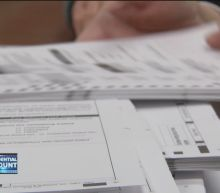 Trump supporters try to block vote recounts in three states