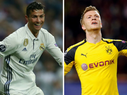 Real Madrid's Cristiano Ronaldo and Borussia Dortmund's Marco Reus both starred this week in Daily Fantasy