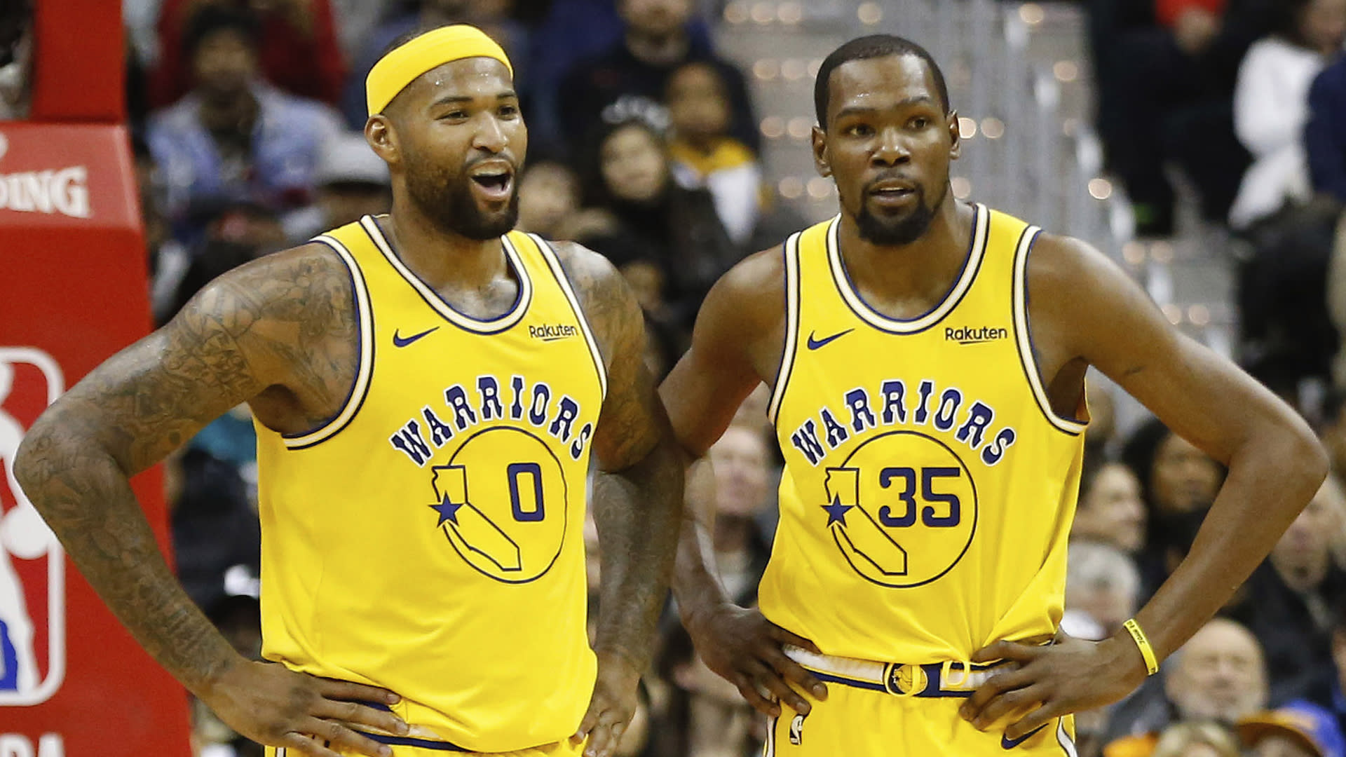 DeMarcus Cousins closer to making Warriors return than Kevin Durant