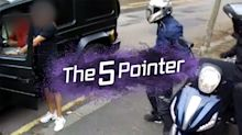 The Five Pointer: Arsenal star takes on robbers, Walker in goal, Pregnant star's Olympic target