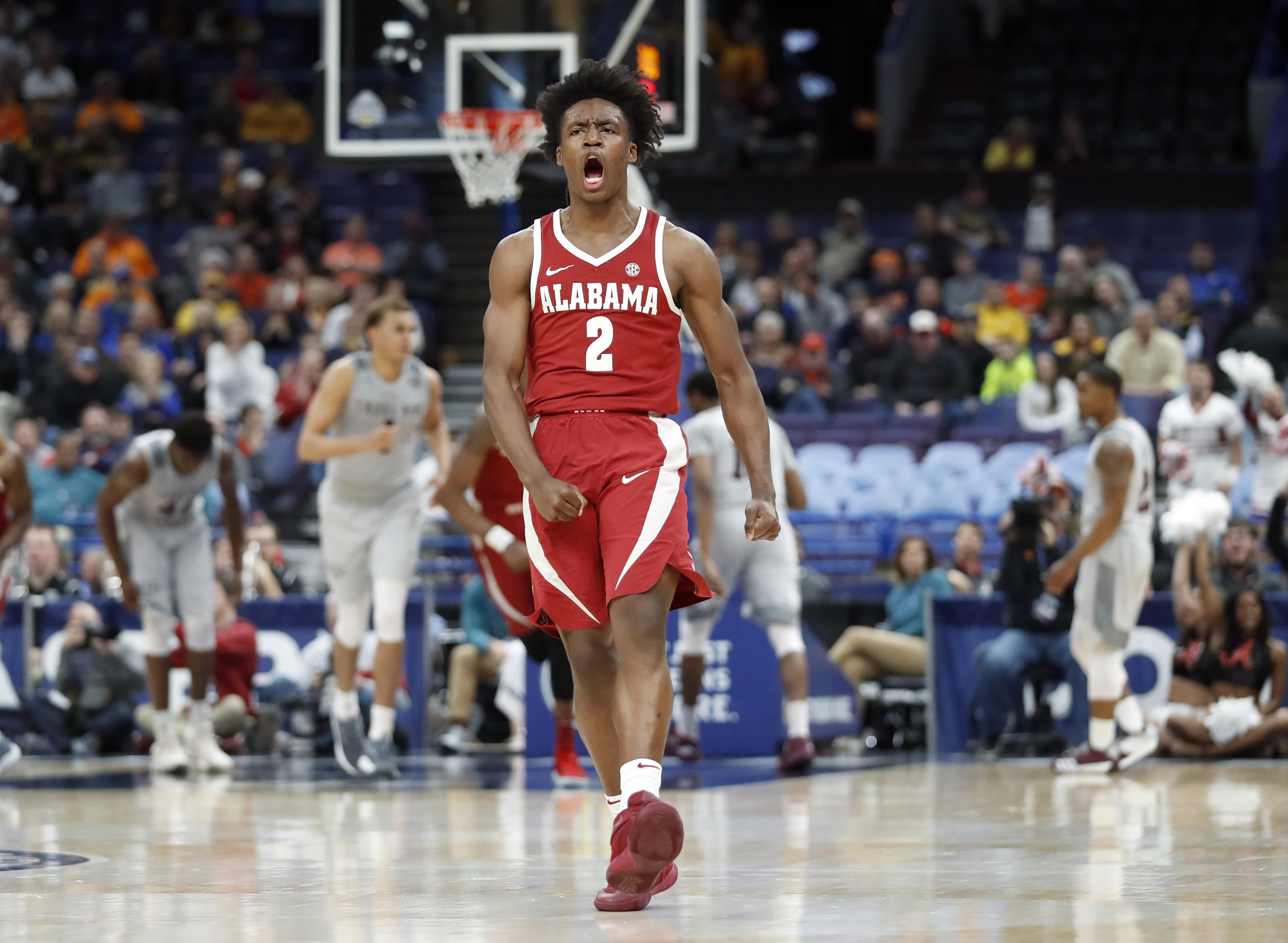 Collin Sexton's coast-to-coast drive preserves Alabama's hopes of an NCAA bid