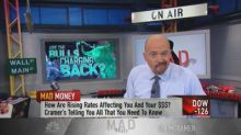Fear gauge, strong earnings tell Cramer this bottom in ma...