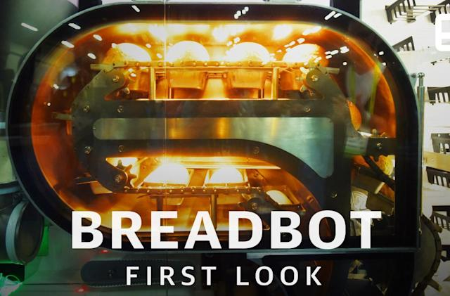 BreadBot delivers freshly baked bread every six minutes
