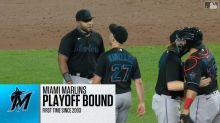 Marlins clinch playoff berth