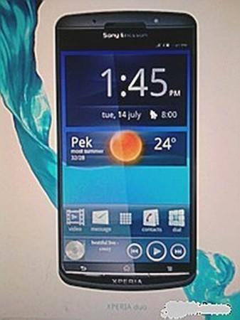 Alleged shot of Sony Ericsson Xperia Duo surfaces