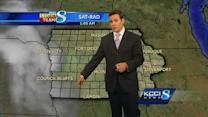 Video-Cast: Hot with a chance for storms
