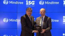 ISG Presents 2019 ISG Star of Excellence Award™ to Mindtree