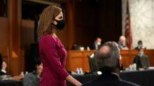 Nommée par Trump à la Cour suprême, la juge Barrett à l'épreuve du Sénat