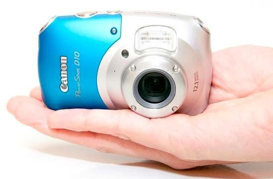 Canon's PowerShot D10 adventure cam shot with a bazooka in this in-depth review