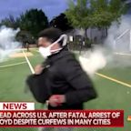 Journalists caught in crossfire during George Floyd protests across the U.S.