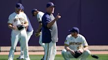 Pat Murphy takes the managerial reins for Craig Counsell in Sunday's series finale