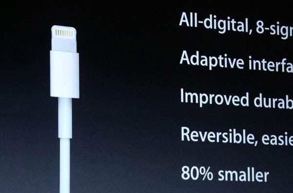 Apple's new iPhone 5 dock connector: It's called Lightning and it's 80 percent smaller, but the adapter is $29