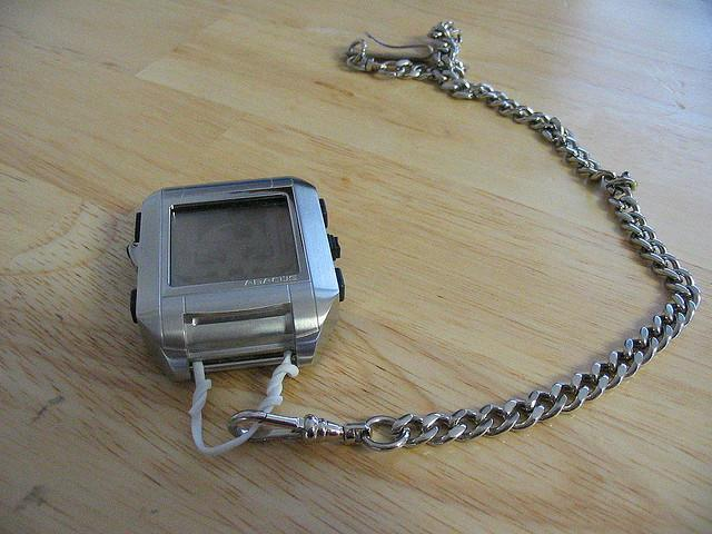 If Apple announces a wearable that's not available until next year...