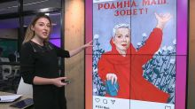 Soviet WWII propaganda revised to hail detained Belarus opposition figure Maria Kolesnikova