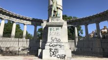 Protesters in some cities target Confederate monuments