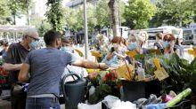 """""""C'est très dur à supporter mais on n'a pas le choix"""" : à Marseille, les commerçants gardent le masque, malgré les fortes chaleurs"""
