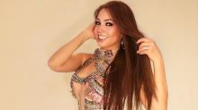 Thalía es detenida por la policía por conducir a exceso de velocidad