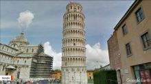 Leaning Tower of Pisa is standing a little more upright