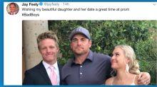 Jay Feely, gun-toting prom dad, sparks an intense debate