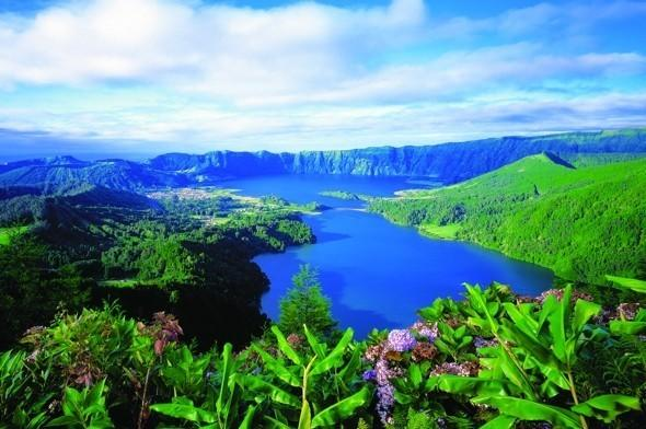 """<p>This Portuguese archipelago bursts into bloom at this time of year and is one of Europe's island gems. <strong>Don't miss:</strong> Flores,famous for its unique floral vegetation: it is perfect at this time of year. There are also the beautiful gardens on the island of Sao Miguel, including Terra Nostra Park. <a href=""""https://www.onthebeach.co.uk/"""" target=""""_blank"""">On the Beach</a> offers a seven-night holiday on Sao Miguel staying at the four-star Bahia Palace Hotel with return flights from London Stansted on 11 June from £571 per person.</p>"""