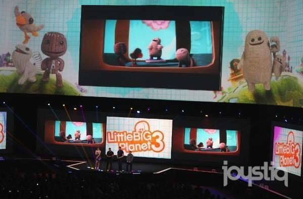 Little Big Planet 3 lets you swoop, toggle, and odd your way through levels