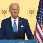 Biden, in message ahead of Thanksgiving, says 'We'll get our lives back' after the COVID-19 pandemic