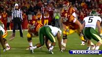 Steele's career night gives ISU 35-21 win